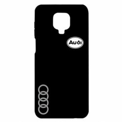 Чехол для Xiaomi Redmi Note 9S/9Pro/9Pro Max Audi Logo