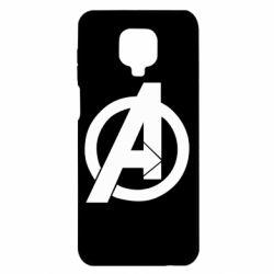 Чехол для Xiaomi Redmi Note 9S/9Pro/9Pro Max Avengers logo