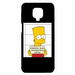 Чехол для Xiaomi Redmi Note 9S/9Pro/9Pro Max Барт в тюряге
