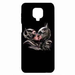 Чехол для Xiaomi Redmi Note 9S/9Pro/9Pro Max Batman and Catwoman Kiss