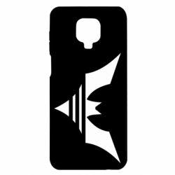 Чехол для Xiaomi Redmi Note 9S/9Pro/9Pro Max Batman three line