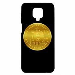 Чохол для Xiaomi Redmi Note 9S/9Pro/9Pro Max Bitcoin coin