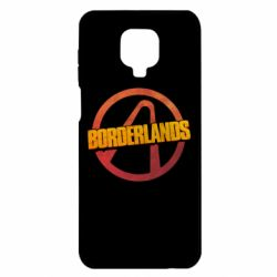 Чехол для Xiaomi Redmi Note 9S/9Pro/9Pro Max Borderlands logotype