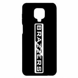 Чехол для Xiaomi Redmi Note 9S/9Pro/9Pro Max Brazzers Logo
