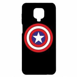 Чехол для Xiaomi Redmi Note 9S/9Pro/9Pro Max Captain America