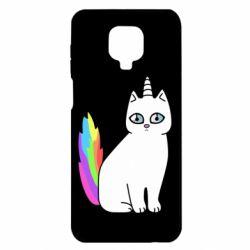 Чехол для Xiaomi Redmi Note 9S/9Pro/9Pro Max Cat Unicorn