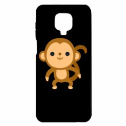 Чехол для Xiaomi Redmi Note 9S/9Pro/9Pro Max Colored monkey
