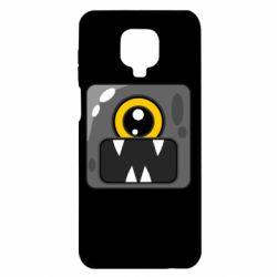 Чехол для Xiaomi Redmi Note 9S/9Pro/9Pro Max Cute black boss