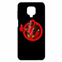 Чехол для Xiaomi Redmi Note 9S/9Pro/9Pro Max Deadpool Fallout Boy