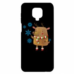 Чохол для Xiaomi Redmi Note 9S/9Pro/9Pro Max Deer and snowflakes