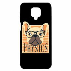 Чехол для Xiaomi Redmi Note 9S/9Pro/9Pro Max Dog Physicist