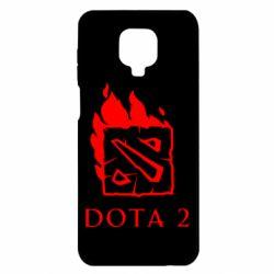 Чохол для Xiaomi Redmi Note 9S/9Pro/9Pro Max Dota 2 Fire