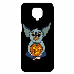 Чехол для Xiaomi Redmi Note 9S/9Pro/9Pro Max Eared Monster with Pumpkin