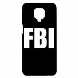 Чохол для Xiaomi Redmi Note 9S/9Pro/9Pro Max FBI (ФБР)