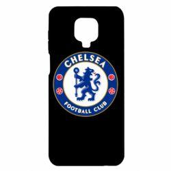 Чехол для Xiaomi Redmi Note 9S/9Pro/9Pro Max FC Chelsea