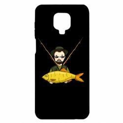 Чохол для Xiaomi Redmi Note 9S/9Pro/9Pro Max Fisherman and fish