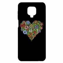 Чохол для Xiaomi Redmi Note 9S/9Pro/9Pro Max Flower heart