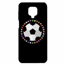 Чохол для Xiaomi Redmi Note 9S/9Pro/9Pro Max Football
