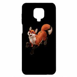 Чехол для Xiaomi Redmi Note 9S/9Pro/9Pro Max Fox in flight
