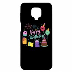 Чохол для Xiaomi Redmi Note 9S/9Pro/9Pro Max Happy Birthday
