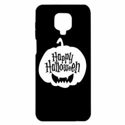 Чехол для Xiaomi Redmi Note 9S/9Pro/9Pro Max Happy halloween smile