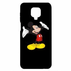 Чехол для Xiaomi Redmi Note 9S/9Pro/9Pro Max Happy Mickey Mouse