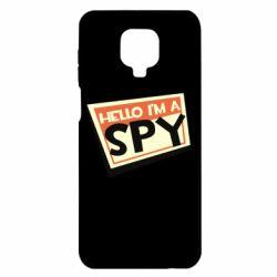Чохол для Xiaomi Redmi Note 9S/9Pro/9Pro Max Hello i'm a spy