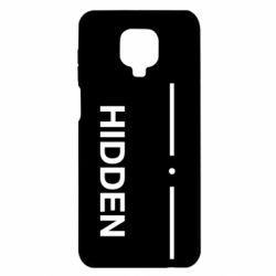 Чохол для Xiaomi Redmi Note 9S/9Pro/9Pro Max Hidden