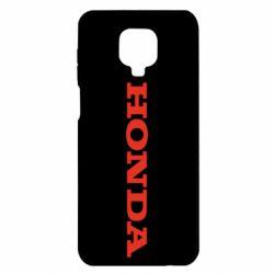 Чохол для Xiaomi Redmi Note 9S/9Pro/9Pro Max Honda напис