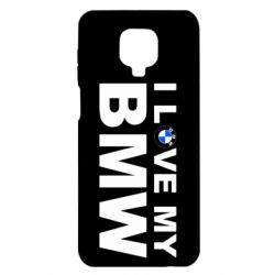 Чохол для Xiaomi Redmi Note 9S/9Pro/9Pro Max I love my BMW