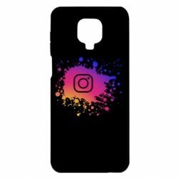 Чехол для Xiaomi Redmi Note 9S/9Pro/9Pro Max Instagram spray