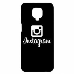 Чохол для Xiaomi Redmi Note 9S/9Pro/9Pro Max Instagram