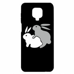 Чохол для Xiaomi Redmi Note 9S/9Pro/9Pro Max Кролики