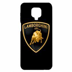 Чохол для Xiaomi Redmi Note 9S/9Pro/9Pro Max Lamborghini Logo