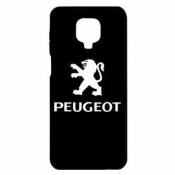 Чехол для Xiaomi Redmi Note 9S/9Pro/9Pro Max Логотип Peugeot