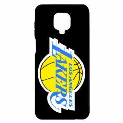 Чохол для Xiaomi Redmi Note 9S/9Pro/9Pro Max Los Angeles Lakers