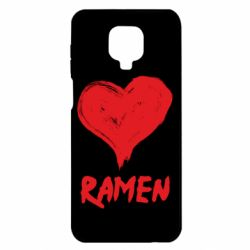 Чохол для Xiaomi Redmi Note 9S/9Pro/9Pro Max Love ramen