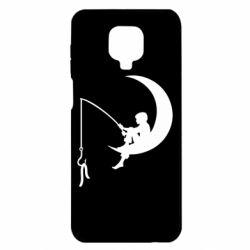 Чехол для Xiaomi Redmi Note 9S/9Pro/9Pro Max Мальчик рыбачит