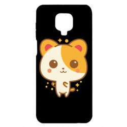 Чехол для Xiaomi Redmi Note 9S/9Pro/9Pro Max Милая кися
