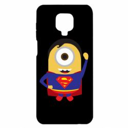 Чохол для Xiaomi Redmi Note 9S/9Pro/9Pro Max Minion Superman