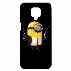Чехол для Xiaomi Redmi Note 9S/9Pro/9Pro Max Миньон Хитман