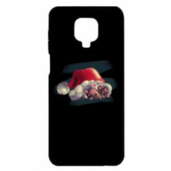 Чехол для Xiaomi Redmi Note 9S/9Pro/9Pro Max Mouses and christmas hat