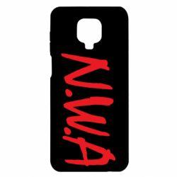 Чехол для Xiaomi Redmi Note 9S/9Pro/9Pro Max N.W.A Logo