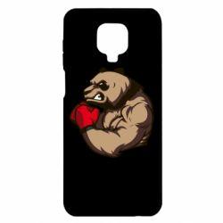 Чехол для Xiaomi Redmi Note 9S/9Pro/9Pro Max Panda Boxing