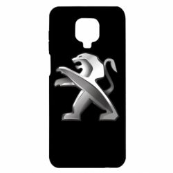 Чохол для Xiaomi Redmi Note 9S/9Pro/9Pro Max Peugeot Logo