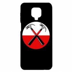 Чохол для Xiaomi Redmi Note 9S/9Pro/9Pro Max Pink Floyd Main Logo