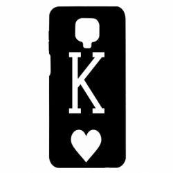 Чехол для Xiaomi Redmi Note 9S/9Pro/9Pro Max Playing Cards King