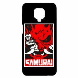 Чехол для Xiaomi Redmi Note 9S/9Pro/9Pro Max Poster samurai Cyberpunk