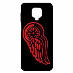 Чохол для Xiaomi Redmi Note 9S/9Pro/9Pro Max Red Wings