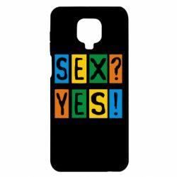 Чехол для Xiaomi Redmi Note 9S/9Pro/9Pro Max Sex?Yes!